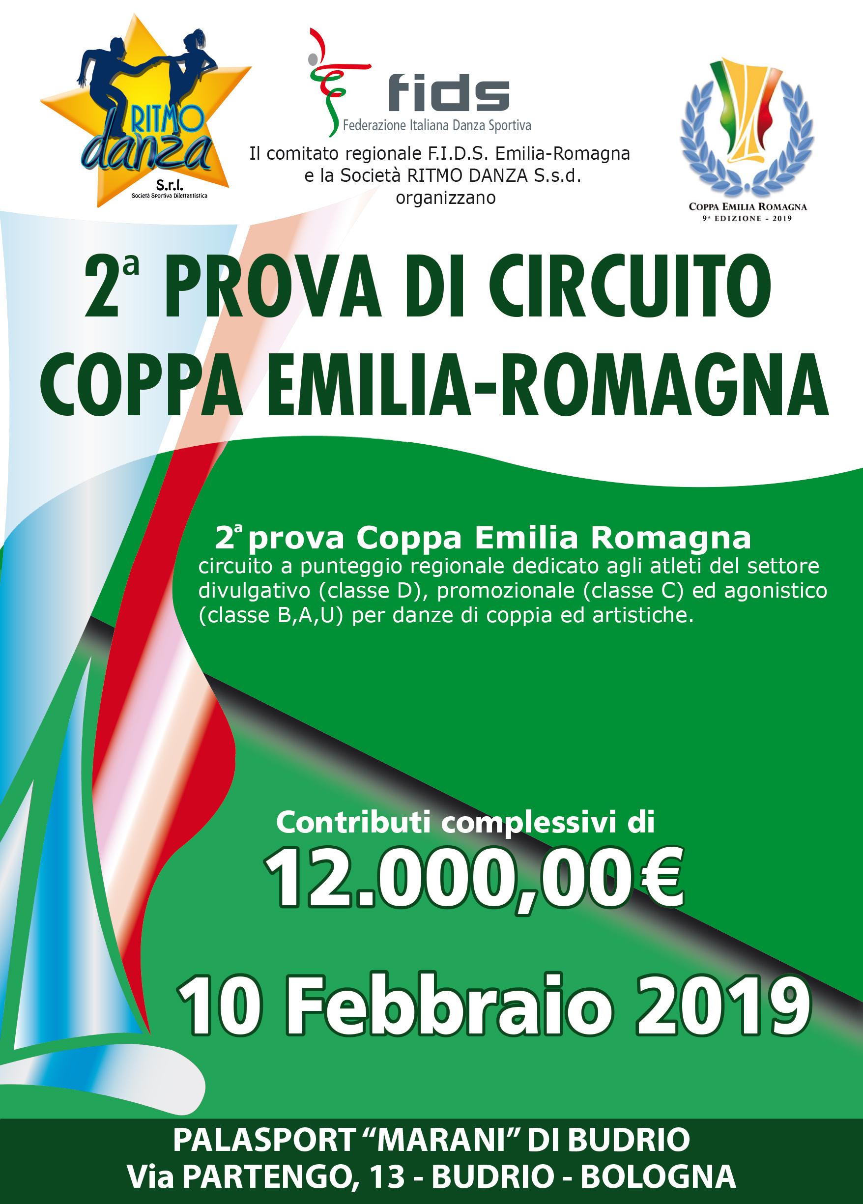 Fronte Coppa Emilia 2019